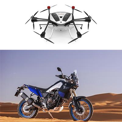 Red Dot Award for two Yamaha models
