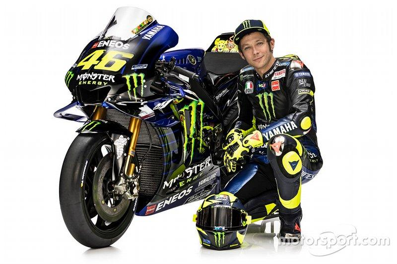 Valentino Rossi and YZR-M1