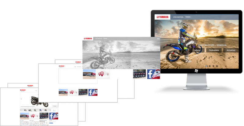 New Yamaha Website !!
